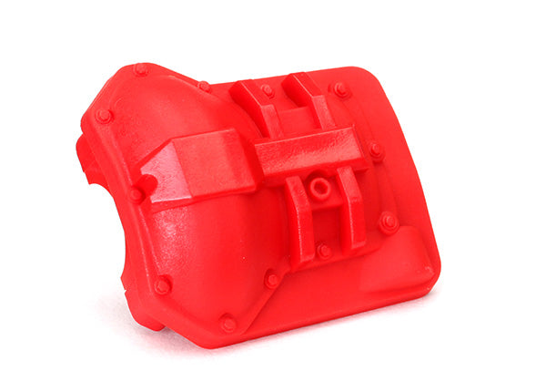 TRA8280R 8280R Differential Cover, Front or Rear, Red
