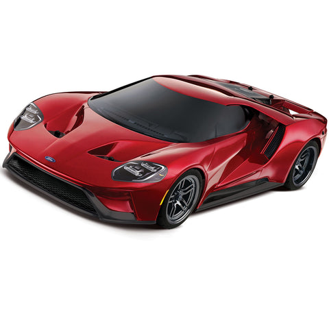 Traxxas Ford GT Supercar, 4-Tec 2.0 Chassis, Red, 83056-4-RED