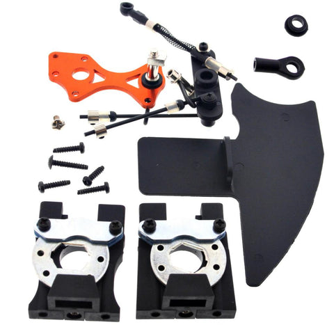 HPI Racing 1/8 Trophy Truggy 4.6 Disc Brake Assembly, Linkage & Differential Mounts