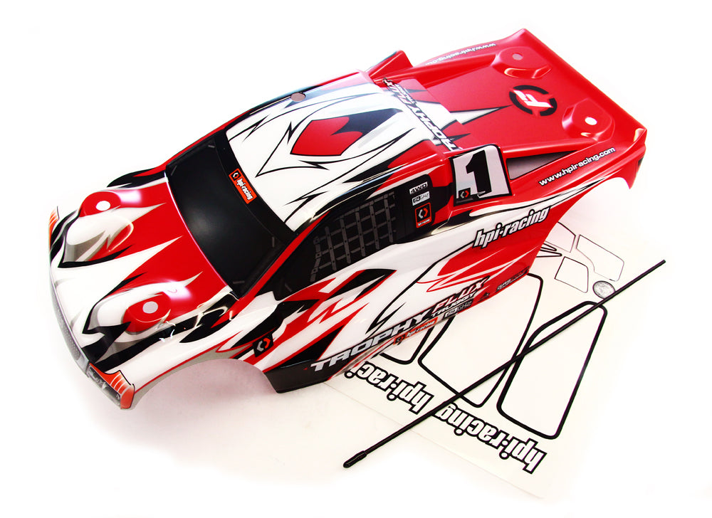 tTruggy Body 107018 Truggy Flux Red Body