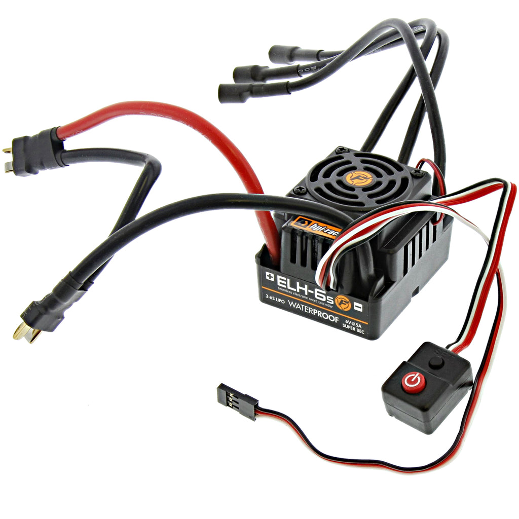 Vorza ESC 101850 Flux ELH-6S Waterproof ESC