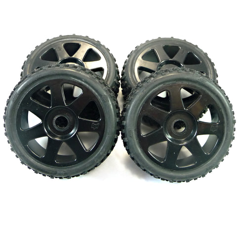 HPI Racing 1/8 Vorza Flux HP Tires & 17mm Hex Wheels