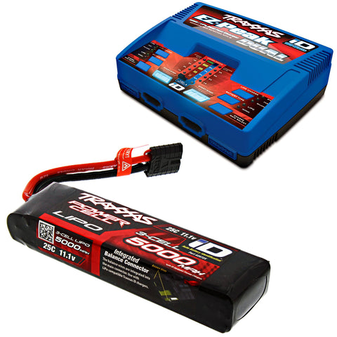Traxxas 1/7 XO-1 Supercar 11.1V 5000 mAh 3S LiPo Battery & EZ-Peak Charger