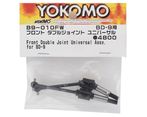 YOKB9-010FW B9-010FW BD9 Front Double Joint Universal Driveshaft, 39.5mm
