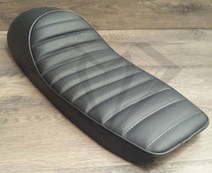 Snappy Tail Cafe Racer Hump Seat - Black - Paragon Moto  - 5