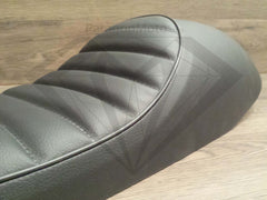 Snappy Tail Cafe Racer Hump Seat - Black - Paragon Moto  - 3