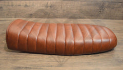 Brown Flat Caterpillar Style Seat - Paragon Moto  - 5