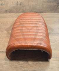 Brown Flat Caterpillar Style Seat - Paragon Moto  - 6