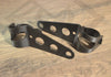 Black Headlight Mounting Brackets (31mm-43mm Forks) - Paragon Moto  - 1