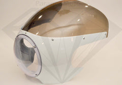 Headlight Fairing (white) - Paragon Moto  - 1