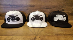 Paragon Moto's Cafe Racer Cotton Mesh Trucker Hats - Various Colors & Designs - Paragon Moto  - 2