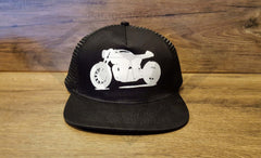 Paragon Moto's Cafe Racer Cotton Mesh Trucker Hats - Various Colors & Designs - Paragon Moto  - 3
