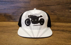 Paragon Moto's Cafe Racer Cotton Mesh Trucker Hats - Various Colors & Designs - Paragon Moto  - 4