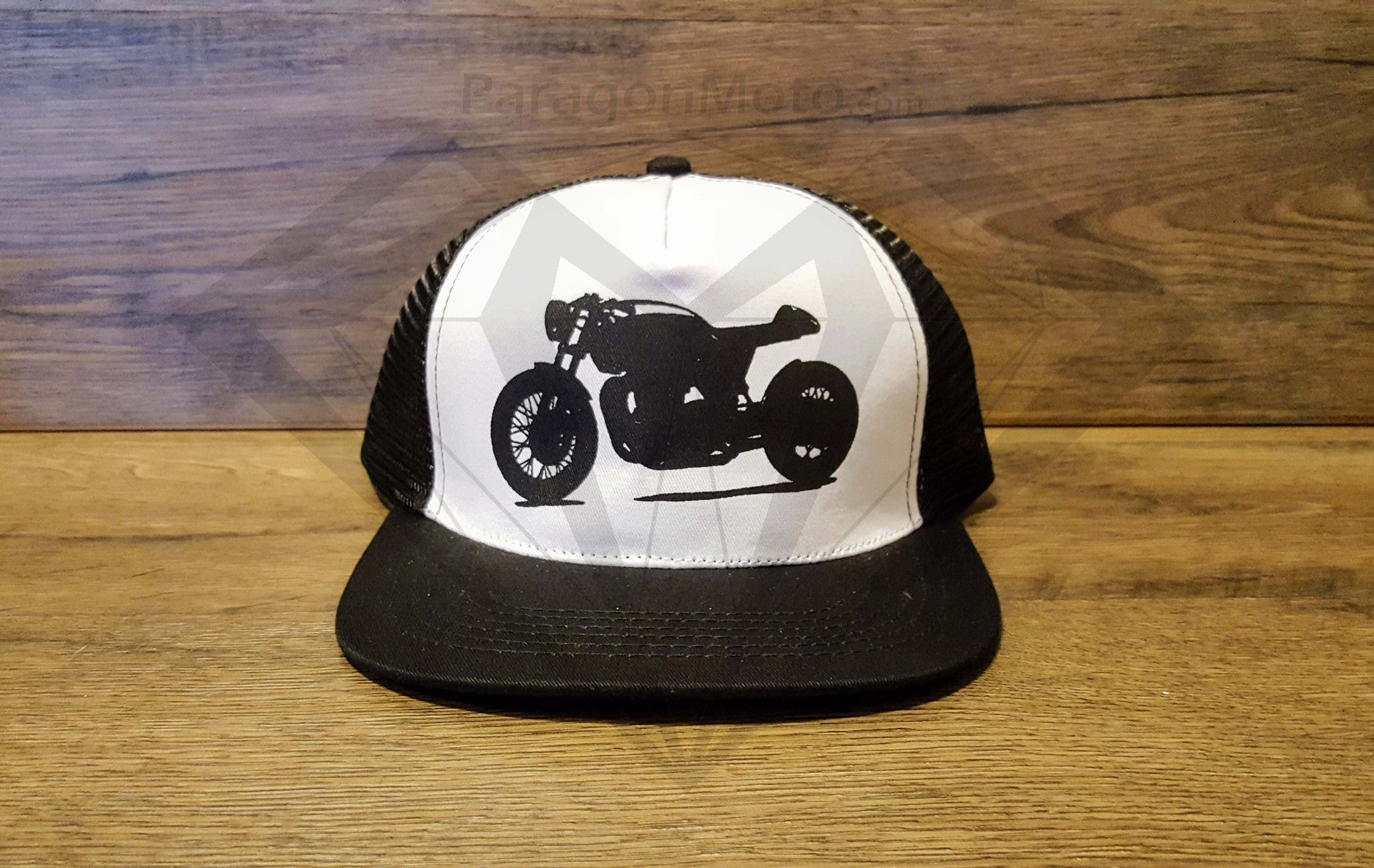 Paragon Moto's Cafe Racer Cotton Mesh Trucker Hats - Various Colors & Designs - Paragon Moto  - 5