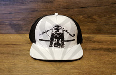 Paragon Moto's Cafe Racer Cotton Mesh Trucker Hats - Various Colors & Designs - Paragon Moto  - 7
