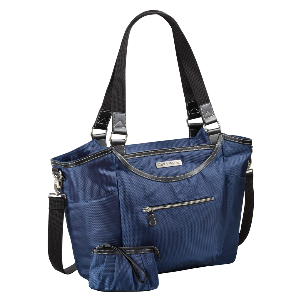 "18.4"" Bellevue Handbag -  Navy Blue"