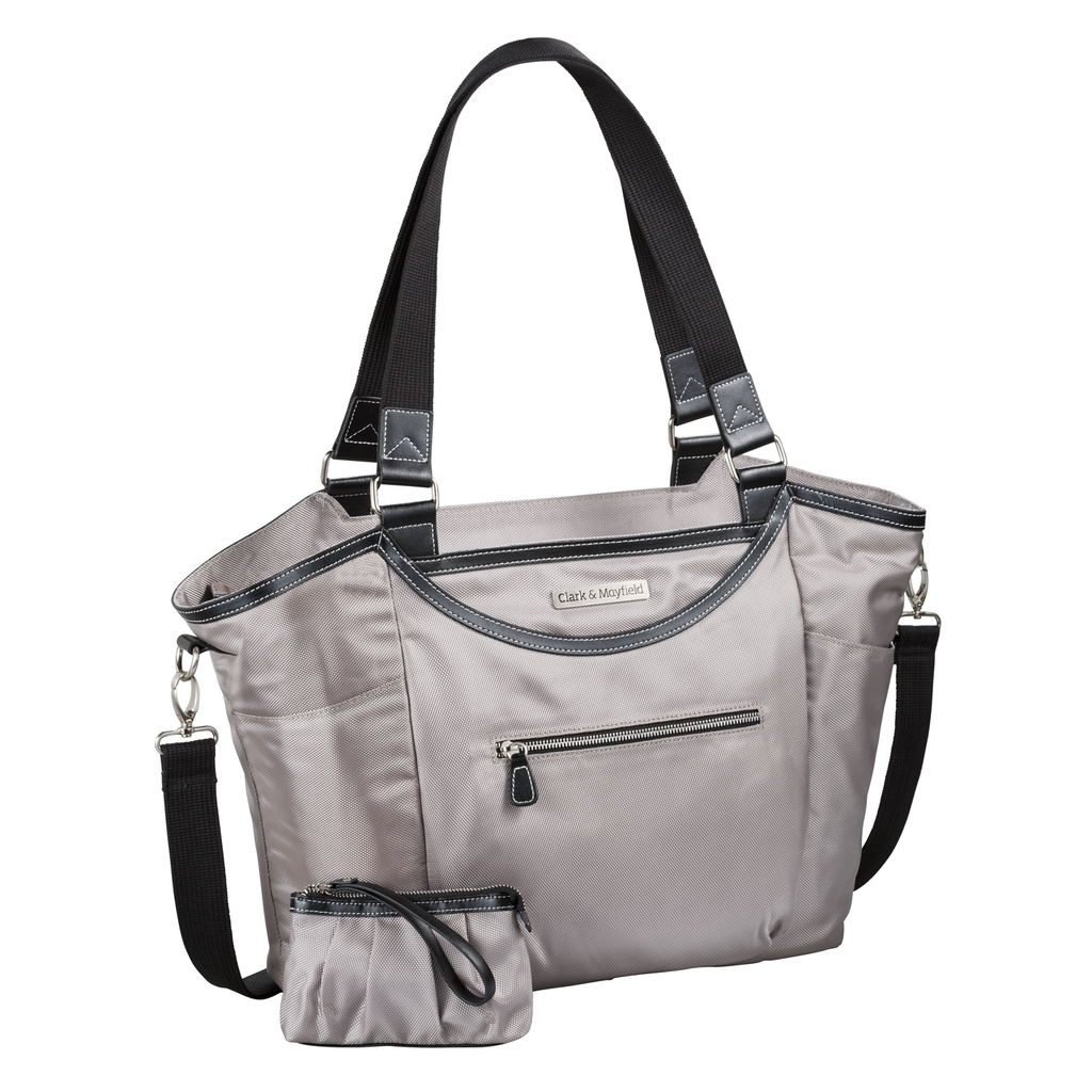 "18.4"" Bellevue Handbag - Gray"