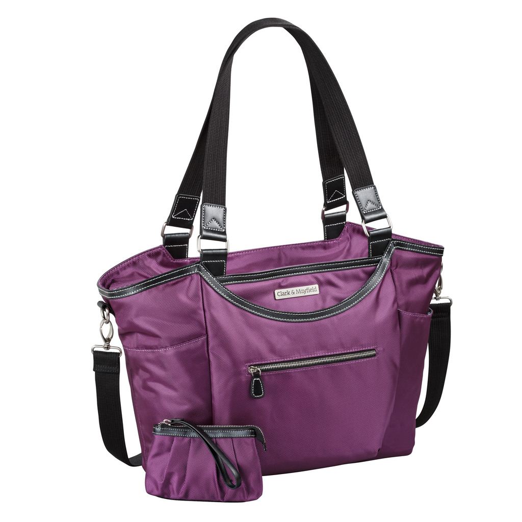 "18.4"" Bellevue Handbag - Purple"