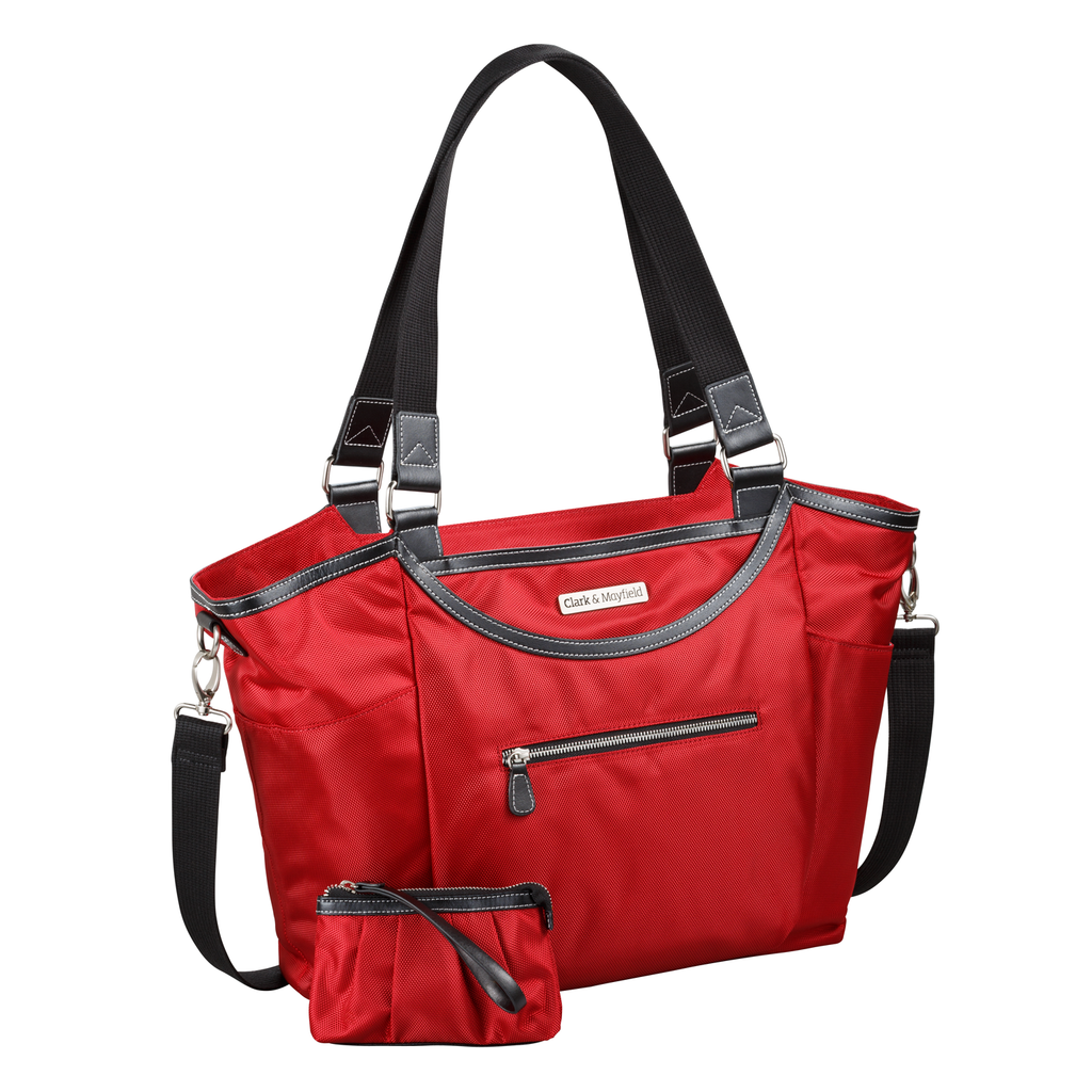 "18.4"" Bellevue Handbag - Red"