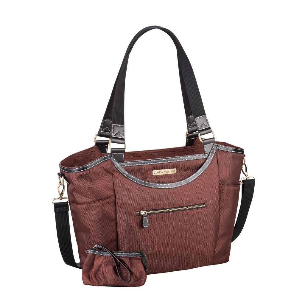 "18.4"" Bellevue Handbag - Bordeaux Brown"