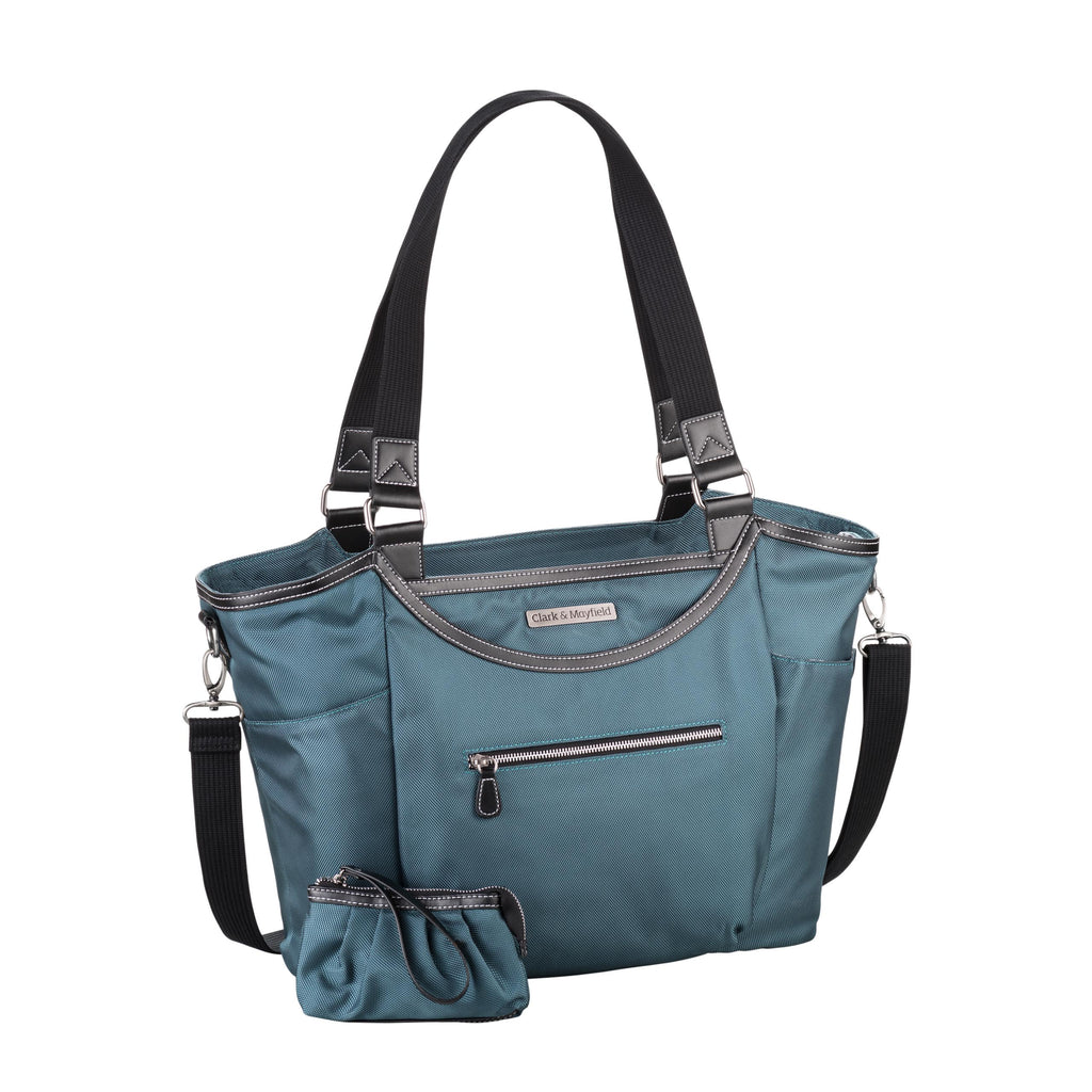 "18.4"" Bellevue Handbag - Deep Teal"