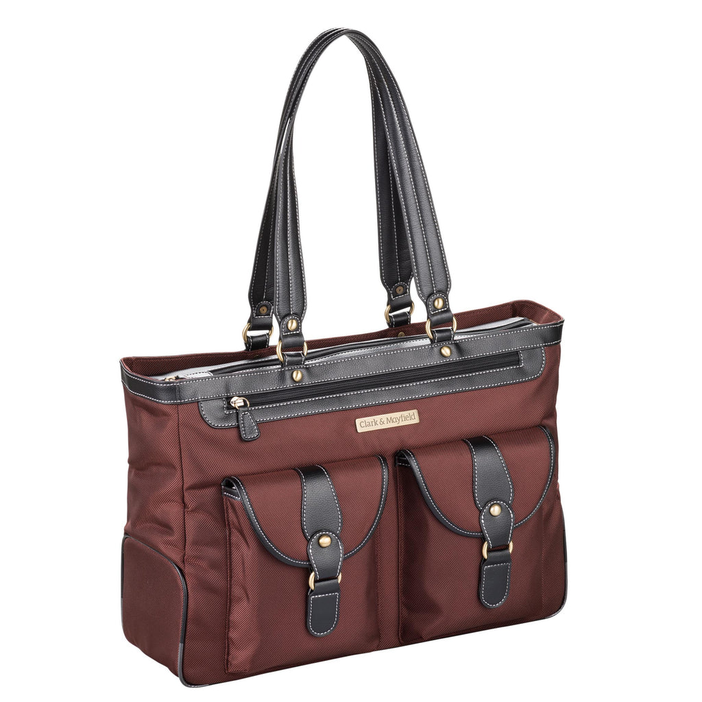 "18.4"" Marquam Metro XL Handbag - Bordeaux Brown"
