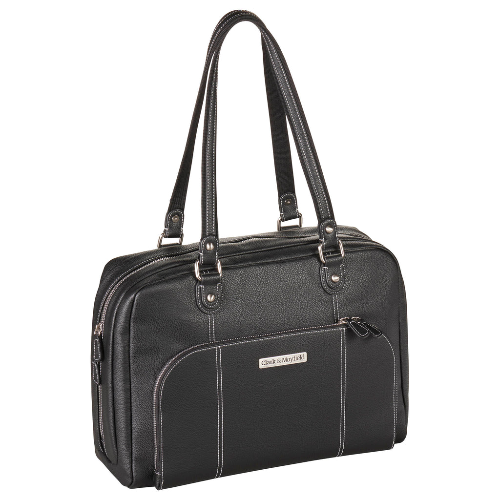 "15"" Morrison Laptop Handbag - Black"
