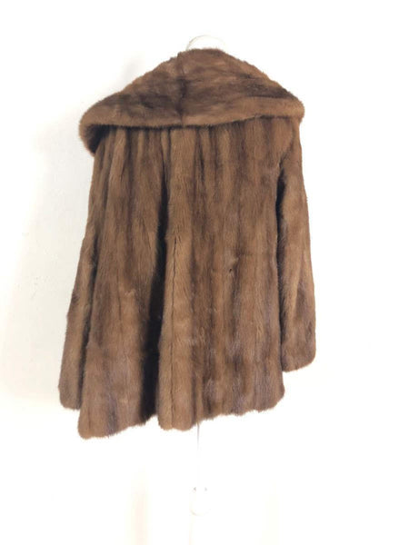 Huerth & Huerth vintage mink fur coat