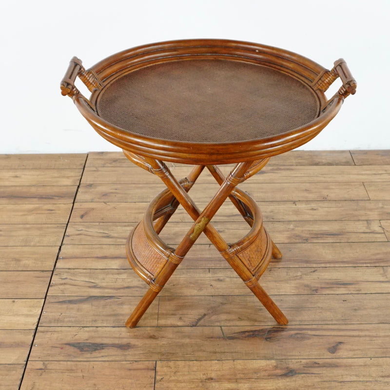 Bamboo Butler Tray Table