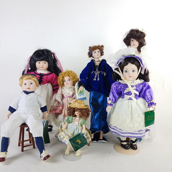 6 Adorable Collectible Dolls