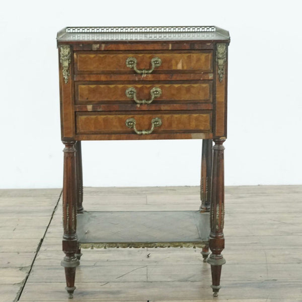 Antique French Ormolu Side Table