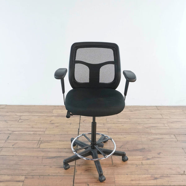 Black Mesh Back Chair