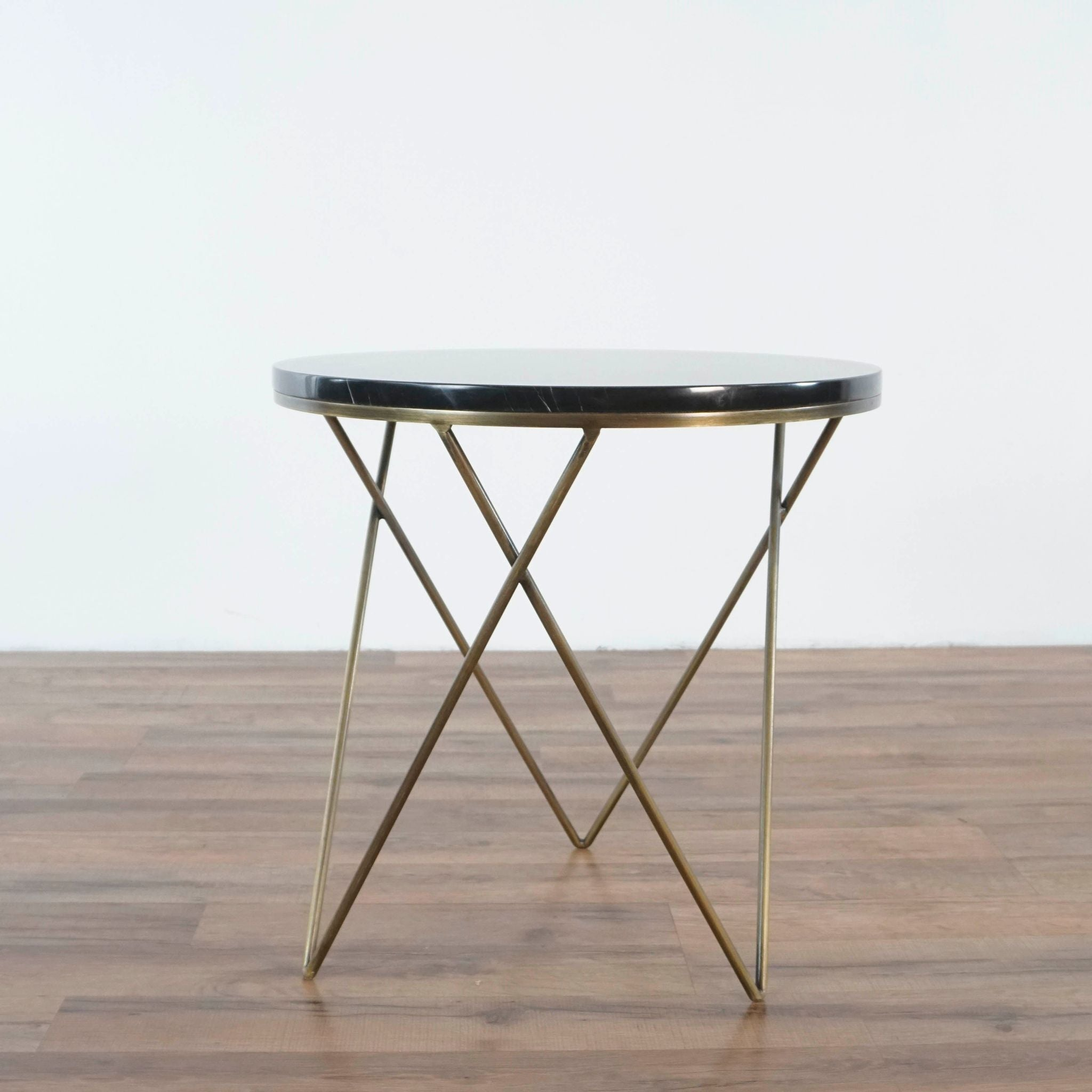 - Marble Top Accent Table - The Local Flea San Francisco Bay Area