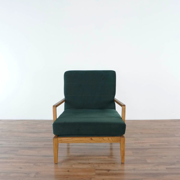 Mid-Century Lounge Chair with Cushion