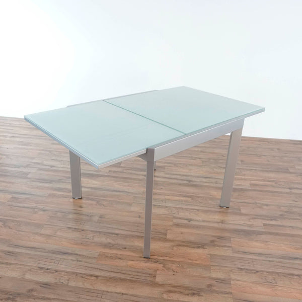 Calligaris Extendable Glass Top Table