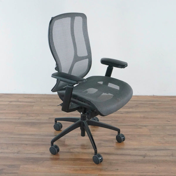 9to5 Seating Black Mesh Office Chair