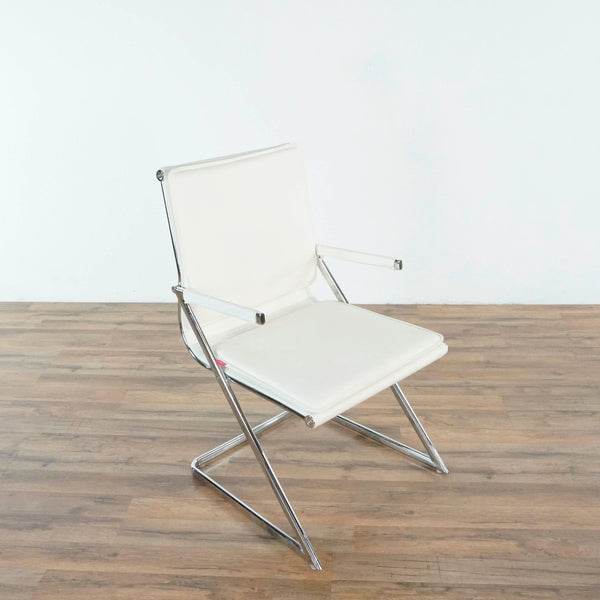 Zuo Modern White Conference Chair