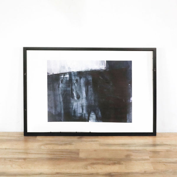 Framed Black and White Art Print