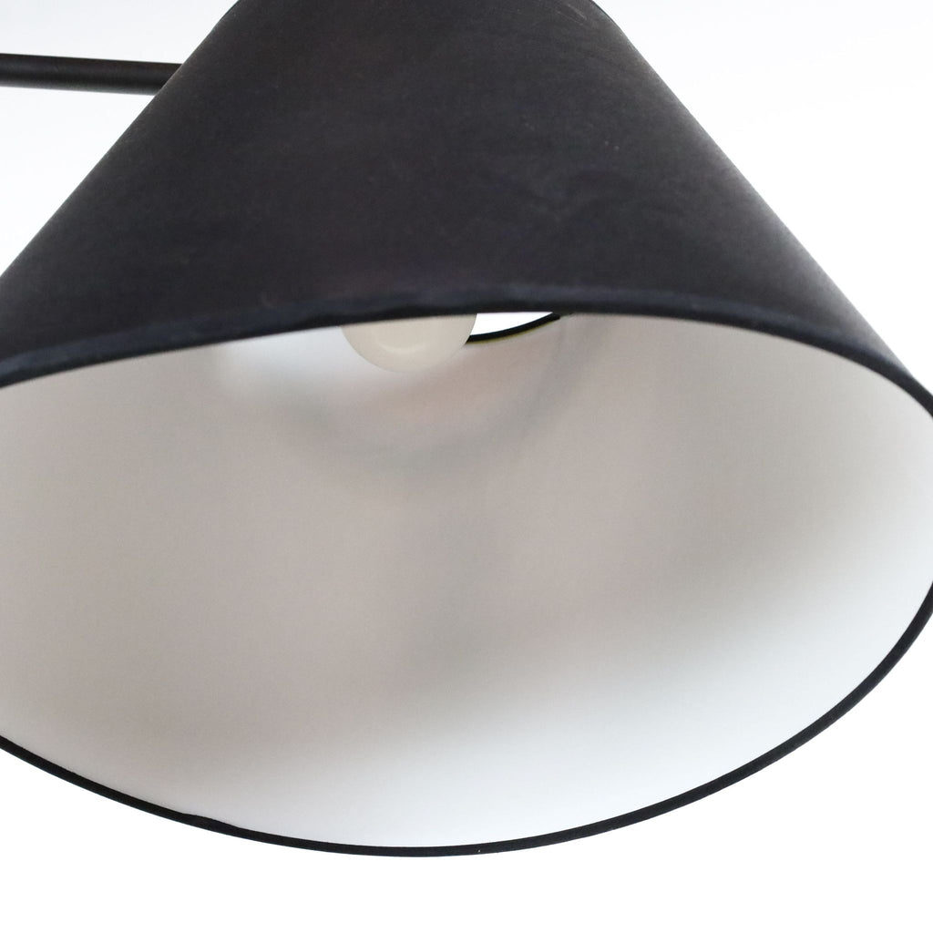 Black Floor Lamp with Shade