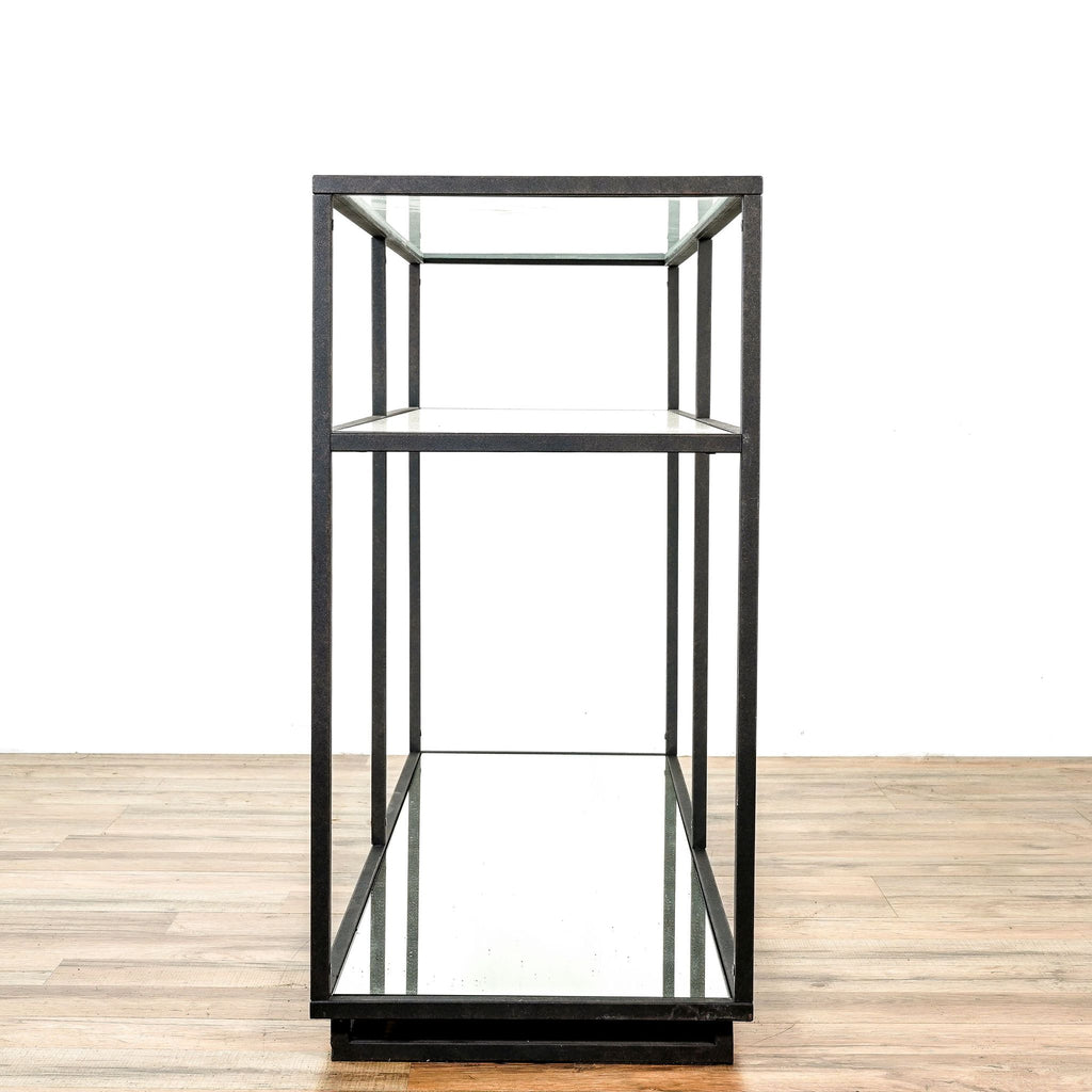 Zuo Modern Kure Console Table In Distressed Black