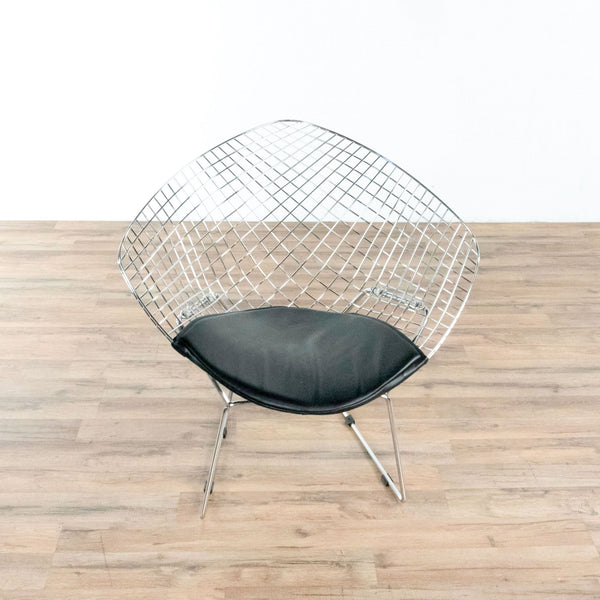 Zuo Modern Net Dining Chair in Black