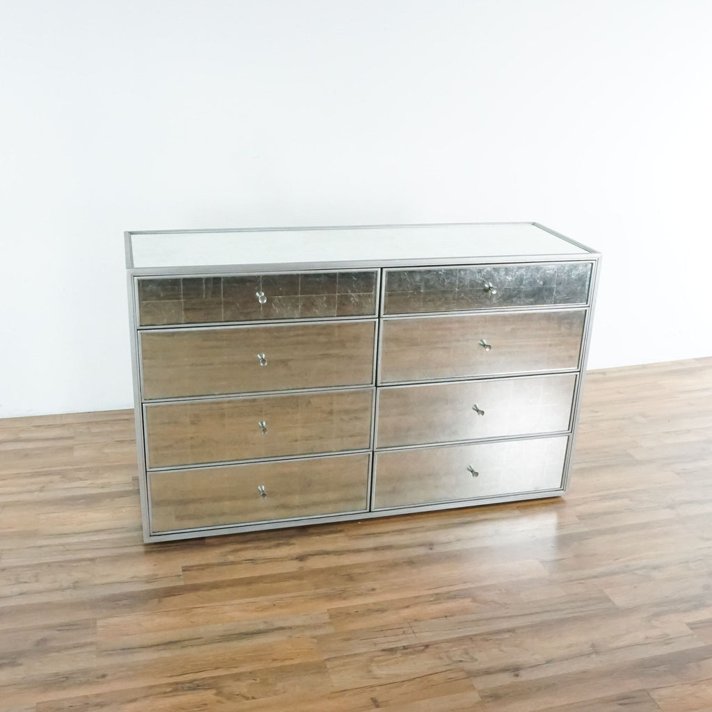 Restoration Hardware Mirrored Dresser