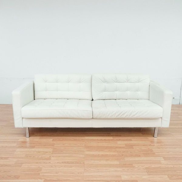 Ikea White Sofa