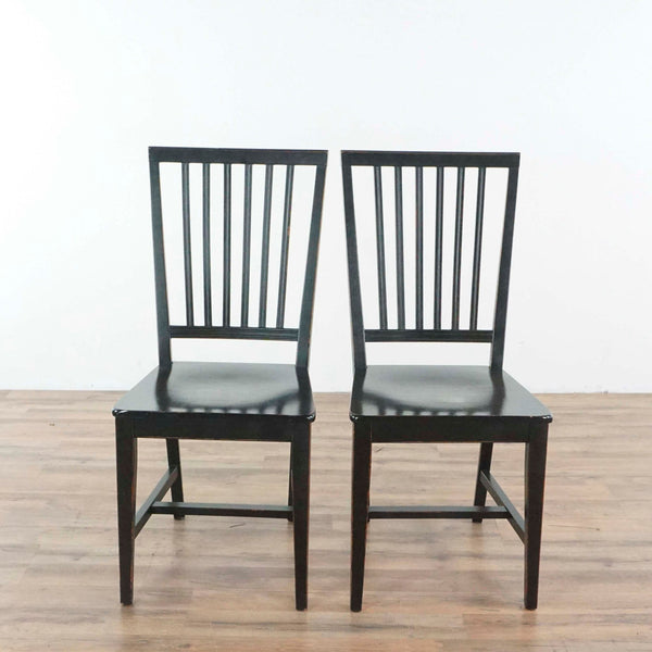 Pair of Buying & Design Wooden Dining Chairs