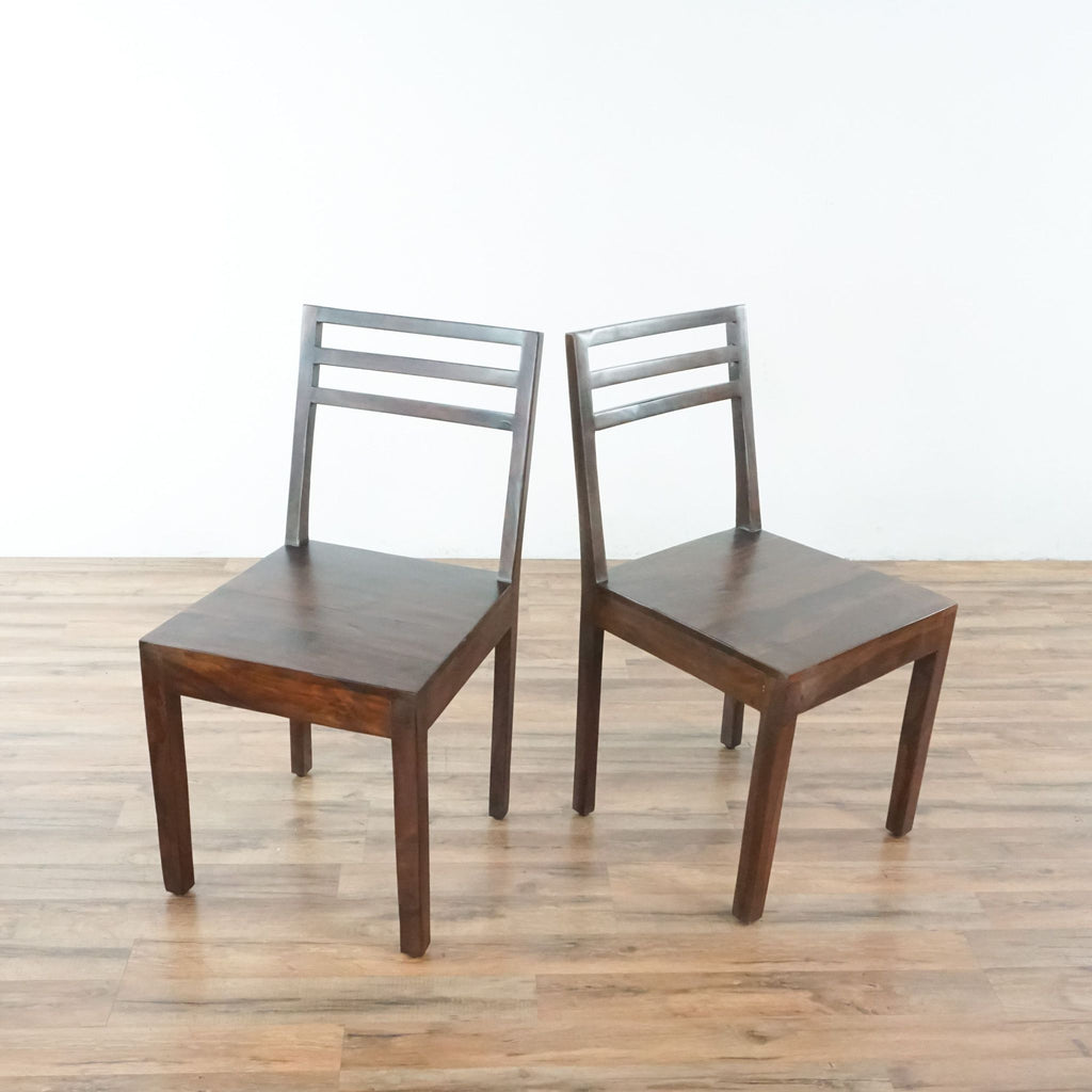 Pair of Monterey Crafts Justo Dining Chairs