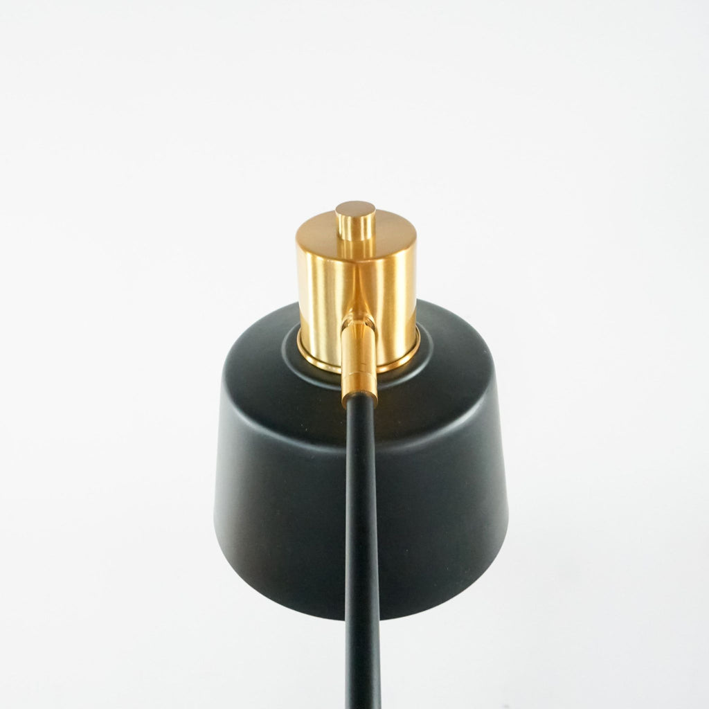 Black and Gold Metal Table Lamp