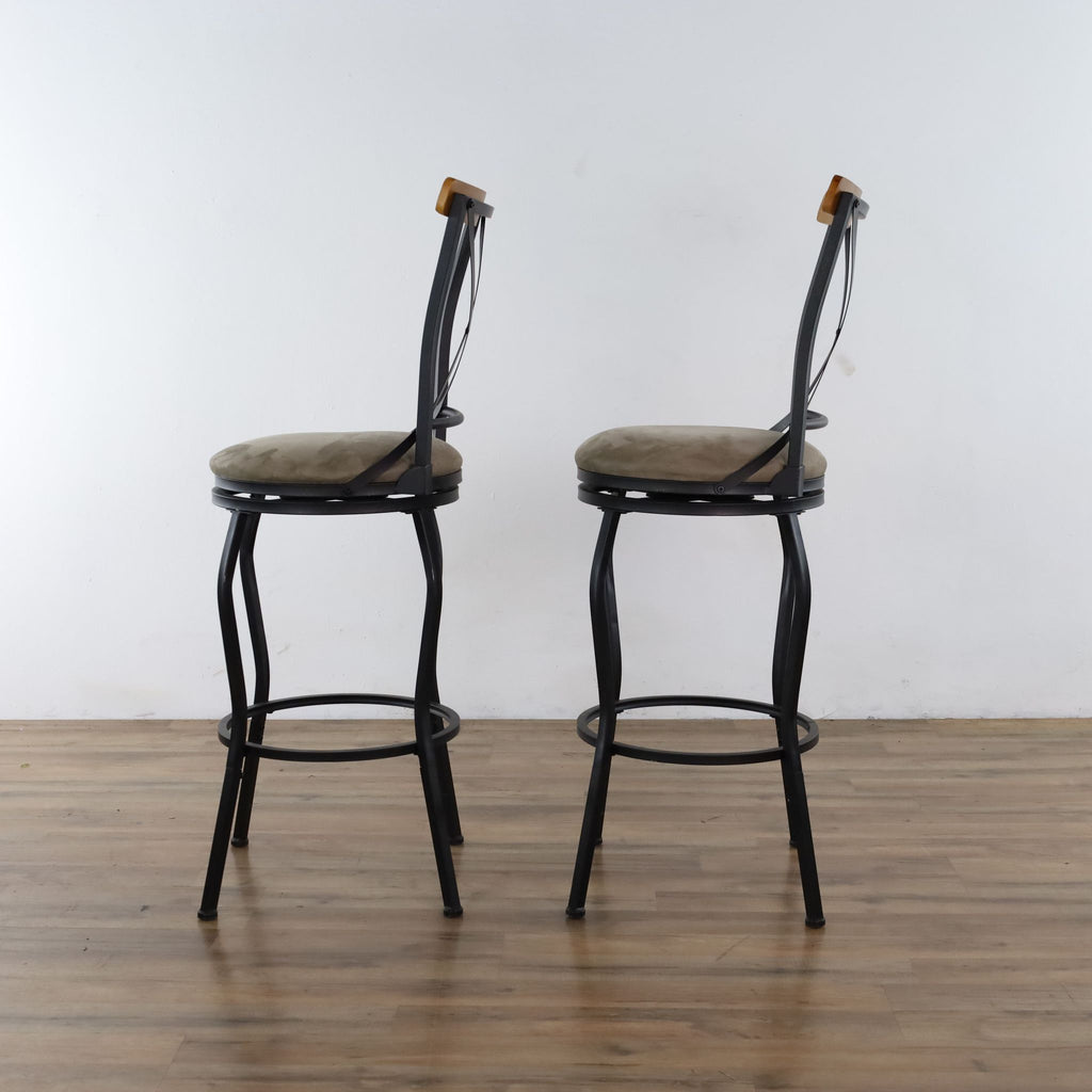 Set Of Two Bar Stools