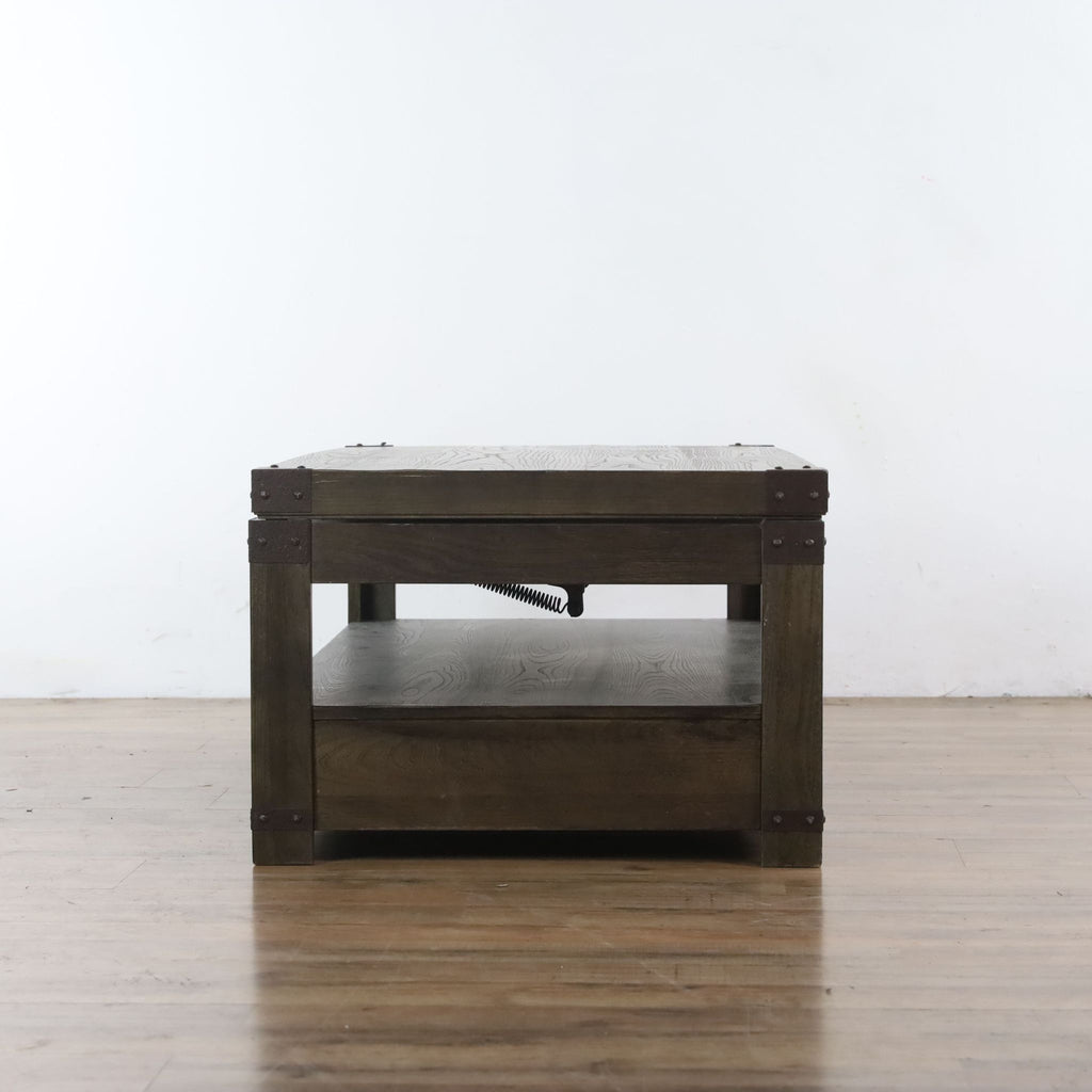 Two Drawer Lift Top Coffee Table
