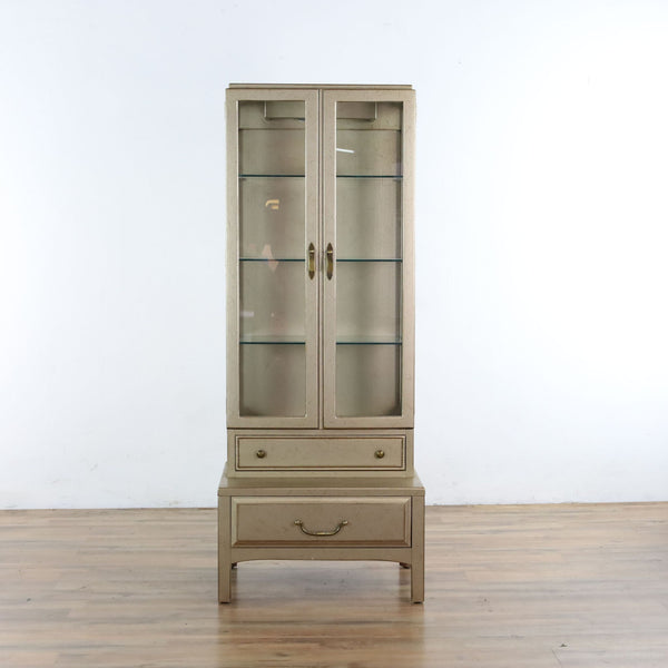 Vintage Display Cabinet by Davis Cabinet Company