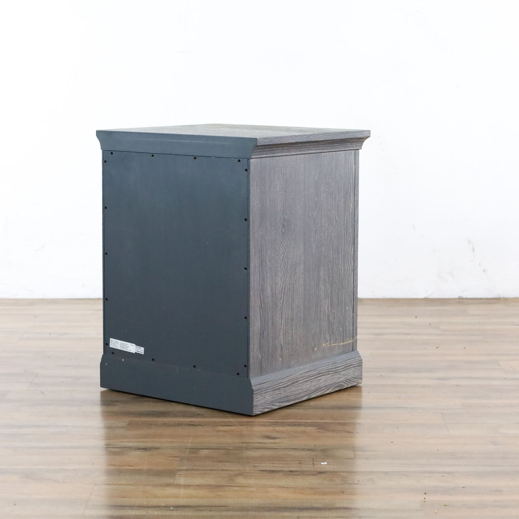 Pottery Barn Charlie Nightstand in Smoked Charcoal